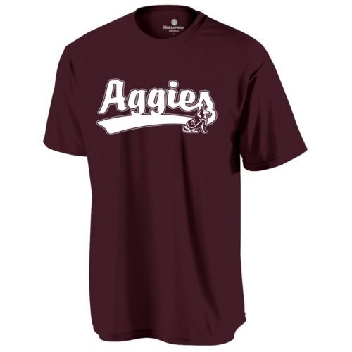 (CREWNECK TEXAS A & M AGGIES Dry Excel Wicking Tee YOUTH LARGE Licensed NCAA College Replica Jersey)