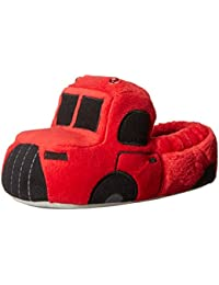 Boys' Light-up Fire Rescue Slippers