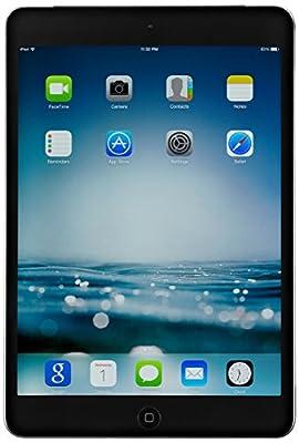 Apple iPad mini 2 with Retina Display MF080LL/A (32GB, Wi-Fi + AT&T, Space Gray) (Renewed)