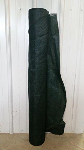 Pinnon Hatch Farms USA 44 90/% Shade Cloth Privacy Screen Poultry Aviary Sun Block Netting 44 X 10, Black