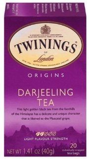 Twinings Of London Darjeeling Tea(pack Of 20) [Health and Beauty]