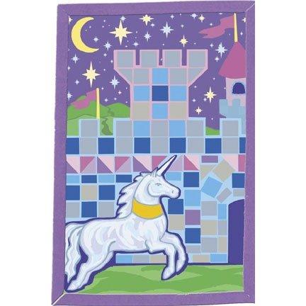 Unicorn and Castle Foamies Mosaic Art Kit -