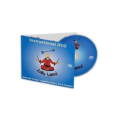 Jolly Lama! Juggling Sticks, Poi & Diabolo Tricks 3-in-1 DVD: Toys & Games