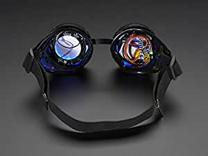 Development Boards & Kits - AVR Trinket Powered NeoPixel Goggle Kit