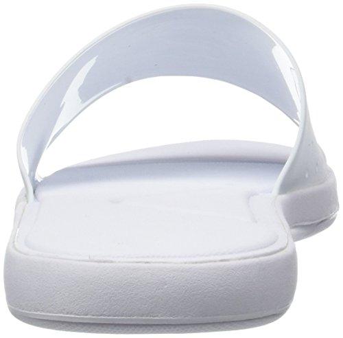 Slide Bianco Uomo Cam L Wht 21g Lacoste Infradito 1 Wht 30 318 BU48x