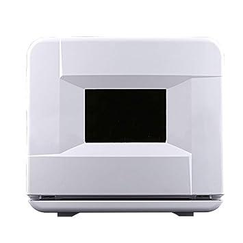 Mini UV Esterilizador De Toallas Calentador Gabinete De Desinfección Salón De Belleza Peluquería Nail Tool Gabinete De Desinfección De Ropa Interior,White: ...