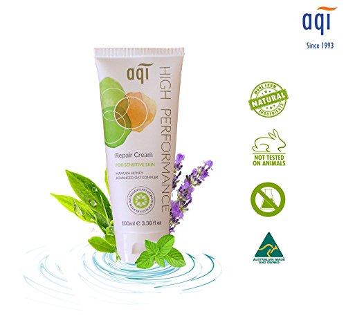 AQI High Performance Repair Cream – Body cream for Sensitive, Allergy Prone and Fragile Skin –Moisturizing, Soothing, Natural Face Cream - 3.38 fl oz