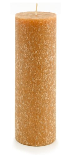 Root Candles Unscented Timberline Pillar Candle , 3 x 9-Inches, Rust