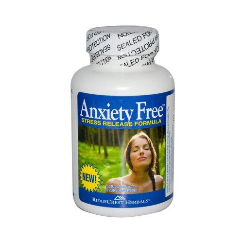 Ridgecrest Herbals - Anxiété gratuit Formule stress de sortie - 60 Vegetarian Capsules