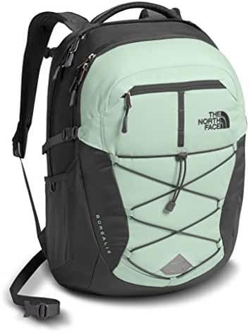 The North Face Women's Borealis Backpack - Subtle Green/Asphalt Grey - One Size