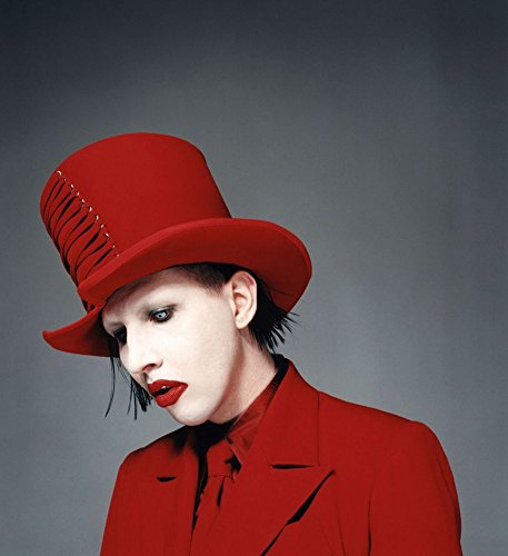 Marilyn Manson Customized 24x26 Inch Silk Print Poster Seda