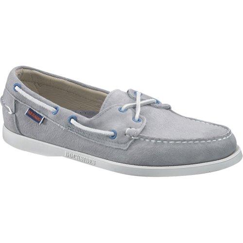 Sebago Men's Docksides Boat Shoes,Gray,12 M