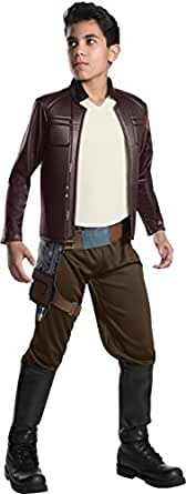 Rubie's Star Wars Episode VIII: The Last Jedi, Child's Deluxe Poe Dameron Costume, Large