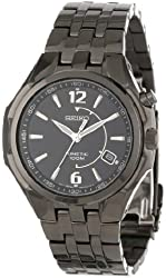 Seiko Men's SKA517 Kinetic No Battery Required Watch