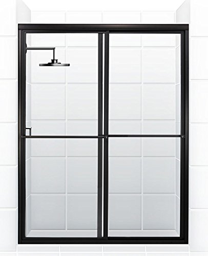 Coastal Shower Doors Newport Series Framed Sliding Shower Door with (70