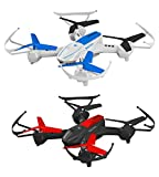 Space Rails Quadcopter Battle Drones Combo Set.