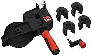 Bessey VAS-23+2K Variable Angle Strap Clamp with 2K Composite Handle, 23', Black/Red