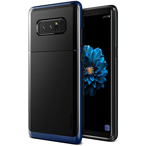 Galaxy Note 8 케이스 내충격 VRS DESIGN High Pro Shield 미군 MIL 규격 충격 흡수 하이브리드 초박형 슬림 하드 커버 [ Samsung Galaxy Note8 ] 딥 C 블루