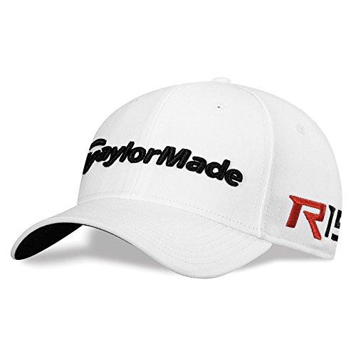 TaylorMade TM15 39Thirty Headwear, Small/Medium, White