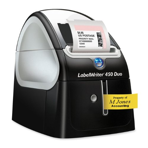 LABELWRITER, DYMO 450 Duo Electronic Computer Dymo Labelwriter Duo Pc