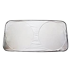 Jumbo Foldable Auto Car Front Rear Windshield Sun Shade Visor Protector Cover Block