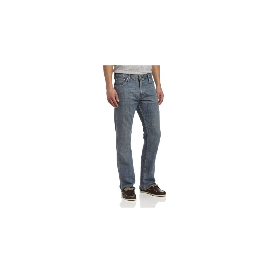 Levis Mens 527 Slim Boot Cut Jean