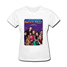 JuDian Saved By The Bell Poster T shirt For Women