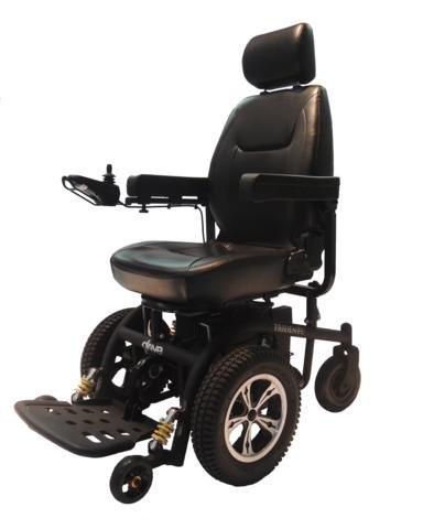 trident power wheelchair front wheel