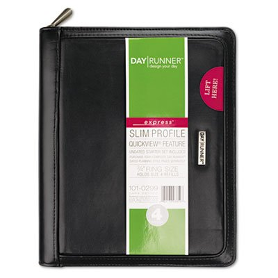 (Windsor Refillable Planner, Black, 5 1/2'' x 8 1/2'', Sold as 1)