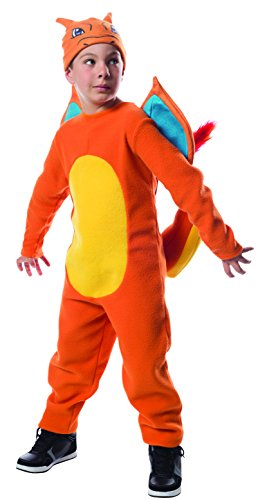 Rubie's Costume Pokemon Charizard Costume, (Pikachu Costumes Girls)