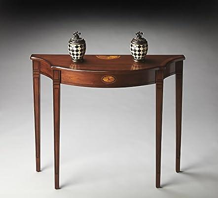 Amazon.com: Butler 4116282 obra maestra Half Moon – Mesa ...