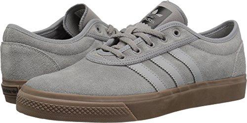 adidas Originals adi-Ease Skate Shoe Solid Grey/Gum, 11 M US