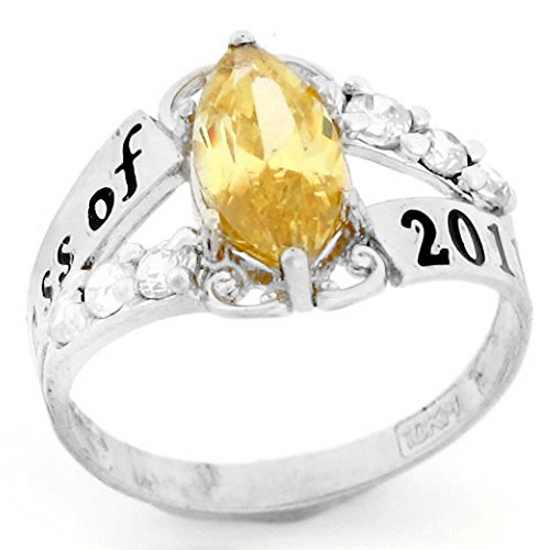 Gold Class Ring - 9