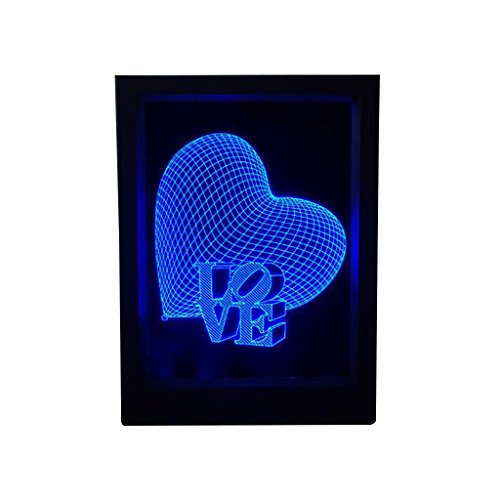 Lina Love Photo Frame Lights Creative Gifts Acrylic Led Eye Lamp Night Light New Exotic Decorative Lights from Lina