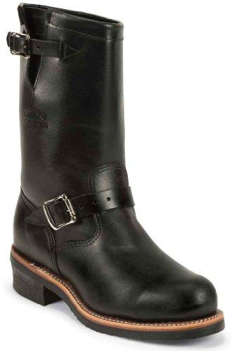 Steel Toe Engineer Boots Mens - 5