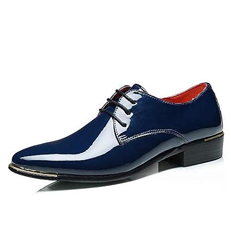 5912102447865 Amazon.com: HuWang Big Size China Brand Classic Male Footwear Brown ...