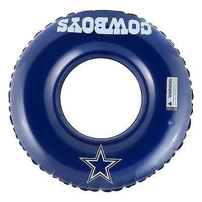 NFL Dallas Cowboys Inflatable Tube, One Size Fits All, Team Color -