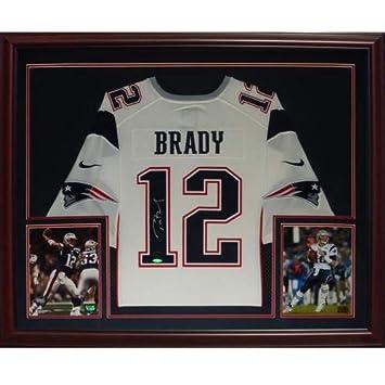 hot sale online 5e075 e948a norway tom brady framed jersey 62bfe 0948b