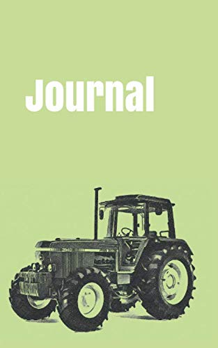 """Journal: handy notebook for tractor enthusiasts. 5""""x8"""". 120 pages. (farm equipment)"""
