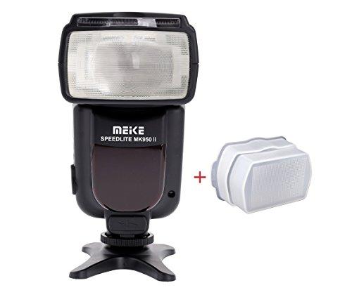 Meike MK950II E-TTL フラッシュ スピードライト+フラッシュディフューザー Canon EOS 700D/T5i 650D/T4i 600D/T3i 1100D Mark III 5D Mark IIと他のCanon デジタル一眼レフカメラ用