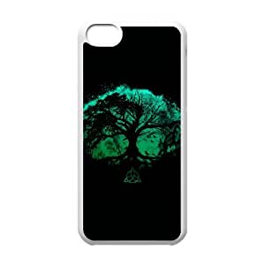 Tree of Life iPhone 5c Cell Phone Case White DIY Gift pxf005_0254602