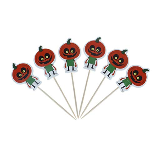 Cake Decorating Supplies - 24pcs Set Halloween Cake Cupcake Pers Picks Party Decoration Vampire Bat Pumpkin Witch Hat - Printer Gear Rotating Dust Star Smoother Comb Storage Icing Molds Track]()