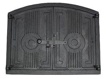 Puerta de hierro fundido para horno de 48cm ...