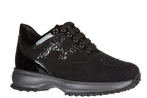 Hogan BabyschuheSneakers Kinder Baby Schuhe Mädchen Wildleder Turnschuhe intera