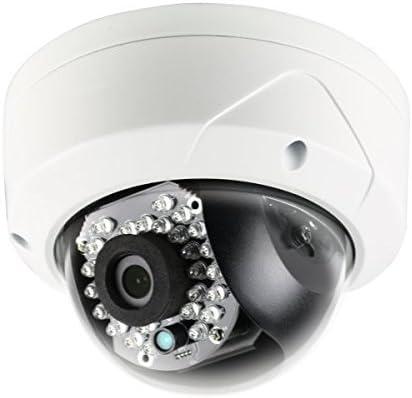 LTS Platinum 2MP 1080p Vandal IR Mini Dome IP Camera 2.8mm, 100 ft Infrared, IP66, PoE 12v DC, ICR, DWDR, VCA, 3-Axis, Onvif, Local Storage, 3yr