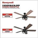 Honeywell Ceiling Fans 50614-01 Carnegie Ceiling