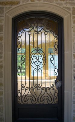 36u0026quot; X 96u0026quot; Stunning Custom Wrought Iron Entry Door ...