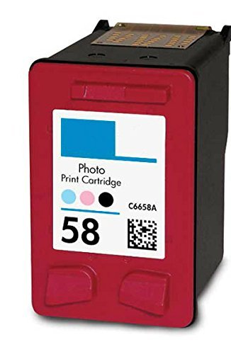 HouseOfToners Remanufactured Ink Cartridge Replacement for HP 58 C6658AN (1 Photo)