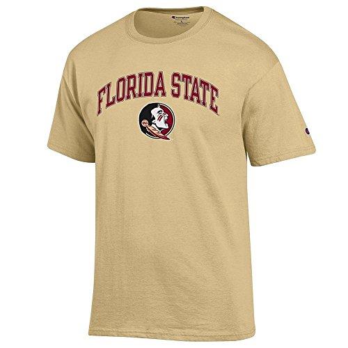 Elite Fan Shop Florida State Seminoles Tshirt Varsity Gold - XXL