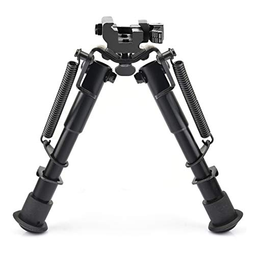 CVLIFE 6-9 Inches Rifle Bipod,Tactical Bipod with Quick Release Picatinny Adapter (Crossbow Foregrip)